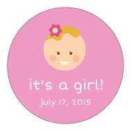 Baby Sticker - Baby Girl