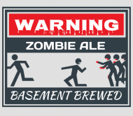 Expressions Beer Label - Zombie Ale