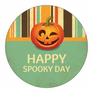 Holiday Sticker - Spooky Day
