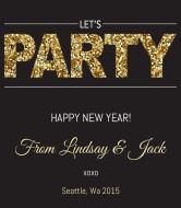 Celebration Wine Label - Big Party
