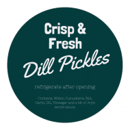 Sticker - Dill Pickles