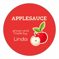 Canning Label - Applesauce