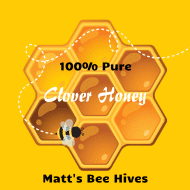 Food Label - Pure Honey