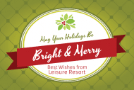 Holiday Gift Tag - Bright and Merry