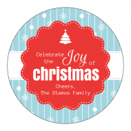 Holiday Sticker - Joy of Christmas