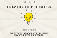 Expressions Mini Wine Label - Bright Ideas