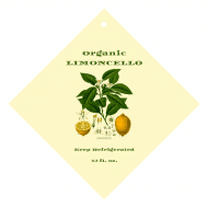 Expressions Wine Hang Tag - Limoncello Botanica