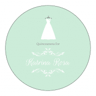 Celebration Sticker - Quinceanera