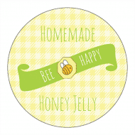 Canning Label - Bee Happy