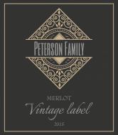 Expressions Wine Label - Vintage