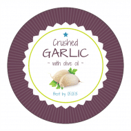 Canning Label - Garlic