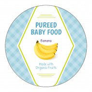 Canning Label - Baby Food