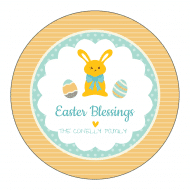 Holiday Sticker - Easter Blessings