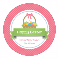 Holiday Sticker - Easter Basket