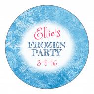 Celebration Sticker - Melted Snow