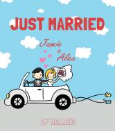 Wedding Wine Label - Just Married