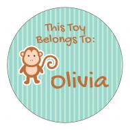 Sticker - Monkey Says
