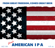 Holiday Beer Label - American IPA