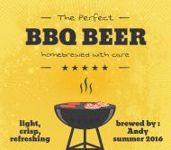 Celebration Beer Label - BBQ