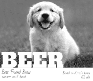 Expressions Beer Label - Best Friend Brew