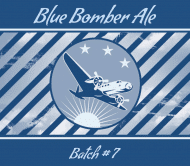 Expressions Beer Label - Blue Bomber