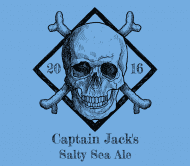 Expressions Beer Label - Skull And Bones
