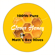 Canning Label - Pure Honey