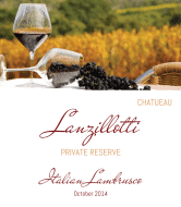 Expressions Wine Label - Private Reserve