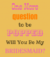 Wedding Wine Label - One More Question