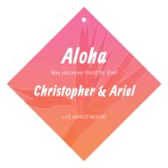 Expressions Wine Hang Tag - Aloha