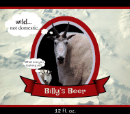 Expressions Beer Label - Billy Goat