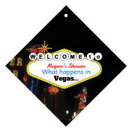 Wedding Wine Hang Tag - Vegas