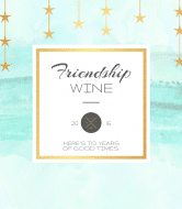 Expressions Wine Label - Dreaming