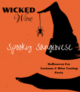 Holiday Wine Label - Wicked Wine