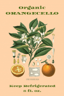 Food Label - Orangecello Botanica