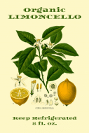 Food Label - Limoncello Botanica