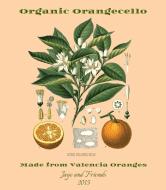 Expressions Wine Label - Orangecello Botanica