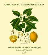 Celebration Wine Label - Limoncello Botanica