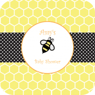 Baby Drink Coaster - Honey Bee