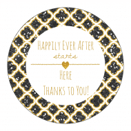 Celebration Sticker - Happy Forever