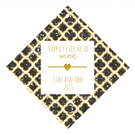Celebration Wine Hang Tag - Happy Forever