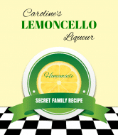 Expressions Wine Label - Lemoncello