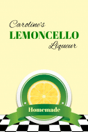 Expressions Food Label - Lemoncello
