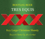 Celebration Beer Label - Tres Equis