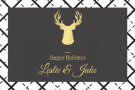 Holiday Mini Wine Label - Holiday Happiness