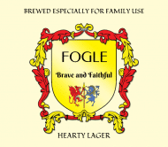Celebration Beer Label - Family Crest