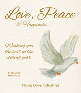 Wine Label - Dove