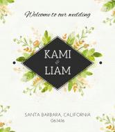 Wedding Wine Label - Fresh Press