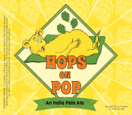 Expressions Beer Label - Hops On Pop