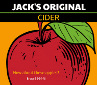 Cider Label - Original Apple